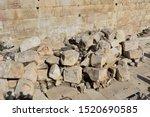 Fallen Stone Blocks From A...