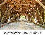 Interior Of The Hemlock Covered ...