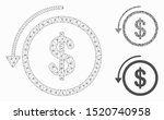 mesh refund model with triangle ... | Shutterstock .eps vector #1520740958