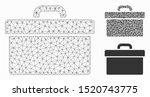 mesh toolbox model with... | Shutterstock .eps vector #1520743775