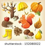 set of elements and items that... | Shutterstock .eps vector #152080022