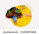 goverdhan puja as it is also...   Shutterstock .eps vector #1520835368
