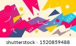 vector creative abstract bright ... | Shutterstock .eps vector #1520859488