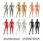 male and female plastic... | Shutterstock .eps vector #1520873015