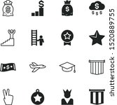 success vector icon set such as ...
