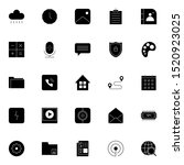 set 21 of ui and ux icon in...