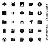 set 11 of ui and ux icon in...