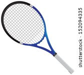 tennis racket   tennis gear for ... | Shutterstock .eps vector #152094335