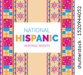 national hispanic heritage...   Shutterstock .eps vector #1520944052