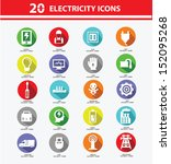 Electricity Icon Collection...