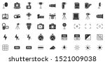 photo camera silhouette icon.... | Shutterstock .eps vector #1521009038