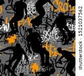 abstract seamless grunge... | Shutterstock .eps vector #1521037562
