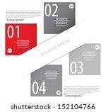 modern design template used for ... | Shutterstock .eps vector #152104766