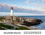 Peggy\'s Cove And The Lighthous...