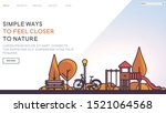 web page design templates with... | Shutterstock .eps vector #1521064568