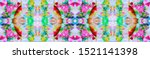 seamless colorful banner with...   Shutterstock . vector #1521141398