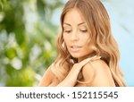 bright closeup portrait picture ... | Shutterstock . vector #152115545