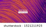 wavy glitch lines composition.... | Shutterstock .eps vector #1521211925
