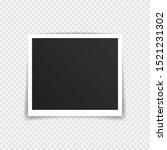 vector photo frame mockup...   Shutterstock .eps vector #1521231302