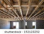 interior view construction new... | Shutterstock . vector #152123252
