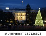 The White House In Christmas  ...