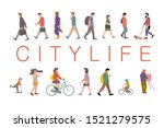 group of different people... | Shutterstock .eps vector #1521279575
