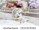 Angel Figure During Christian...