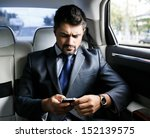 businessman in the car | Shutterstock . vector #152139575