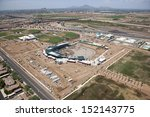 construction of ballpark in... | Shutterstock . vector #152143775
