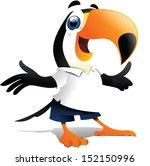 bird mascote   Shutterstock . vector #152150996