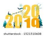 vector illustrations little... | Shutterstock .eps vector #1521510608