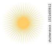 Sun Icon Vector Design. Sun...