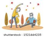 illustration material  exercise ...   Shutterstock .eps vector #1521664235