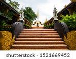 White Pagoda In Pra That Doi...