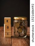 Investment Concept  Roi Or...