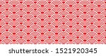 seigaiha japanese japan chinese ... | Shutterstock .eps vector #1521920345