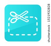 coupon cutting icon. e commerce ...