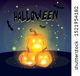 pumpkins cartoons design ...   Shutterstock .eps vector #1521954182