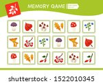 memory game for preschool... | Shutterstock .eps vector #1522010345