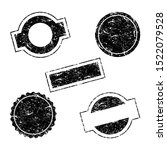 vector stamp without text. set... | Shutterstock .eps vector #1522079528