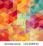 abstract background for design | Shutterstock .eps vector #152208932