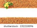 Mustard Seeds With Mustard...