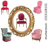 Gorgeous Vintage Armchairs And...
