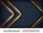 abstract luxury dark background ... | Shutterstock .eps vector #1522226732