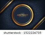 abstract luxury dark background ... | Shutterstock .eps vector #1522226735