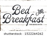 vintage farmhouse bed and...   Shutterstock .eps vector #1522264262
