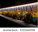 Small photo of Boise,ID/USA-October 4, 2019: Boise State University, Idaho's largest university, continues to grow, setting an enrollment record for the third successive year. This year 25,545 students are enrolled.
