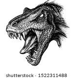 Graphics Drawing Of Dinosaur's...