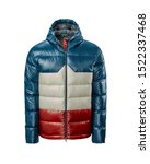 Men's Blue With Red And Ivory...