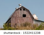 Rustic Old Fashioned Gambrel...